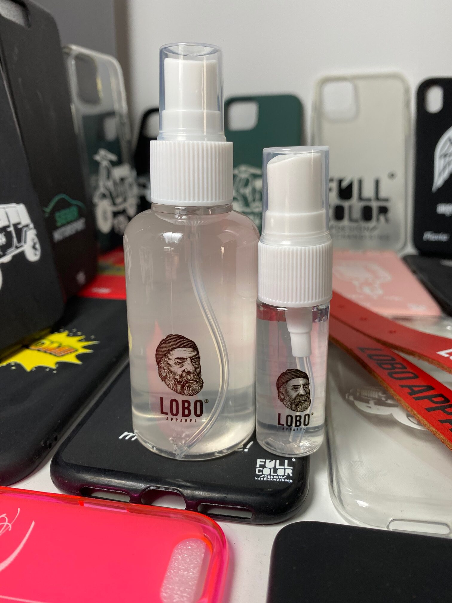 Álcool gel Personalizado