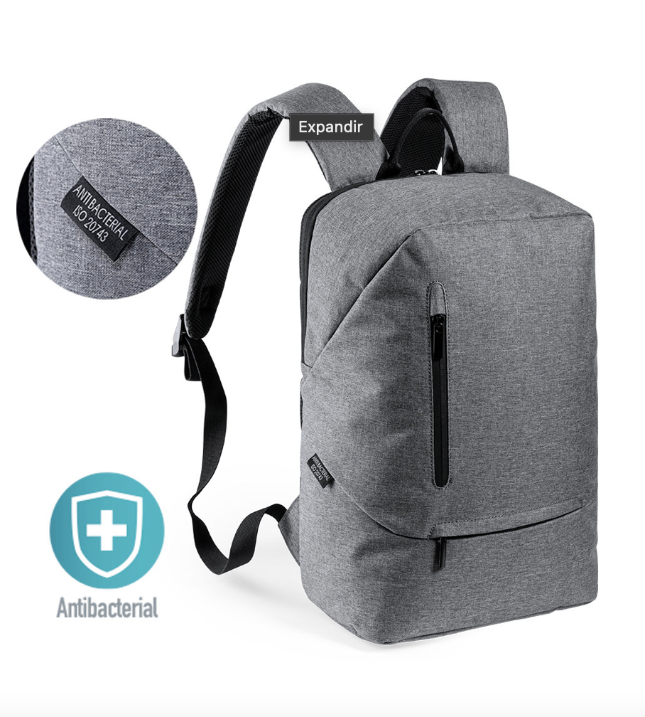 Mochila anti-bacteriana.