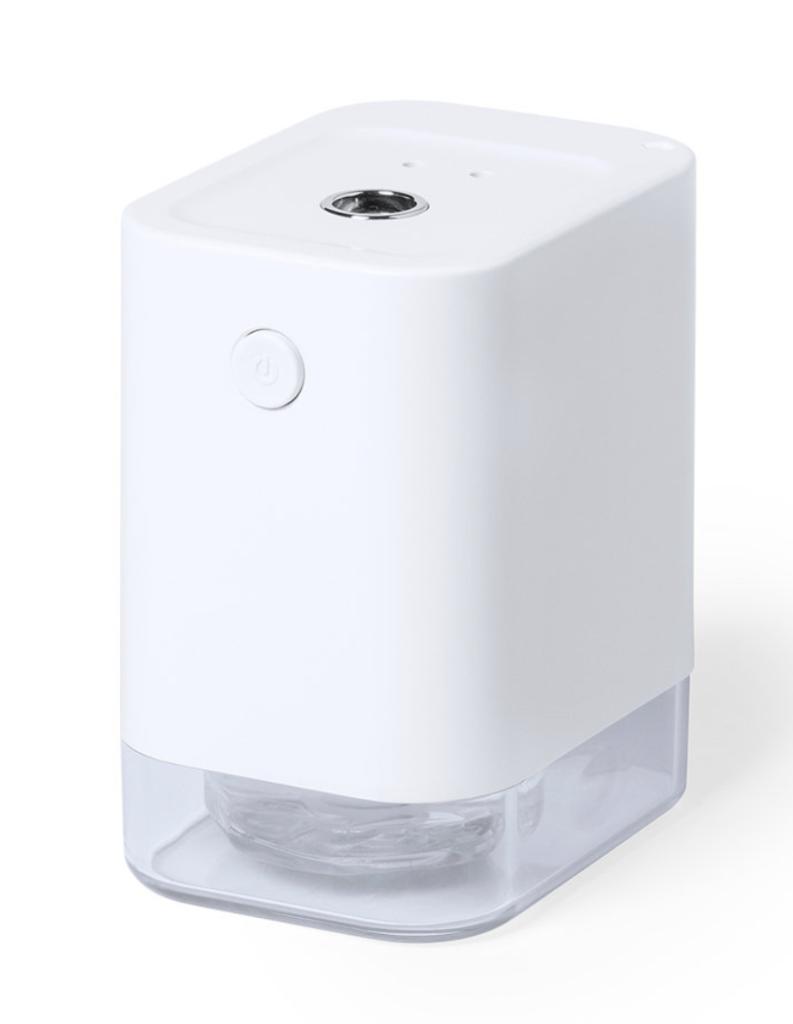 Com sensor de movimento de infravermelhos e led indicador.